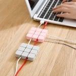Силиконов органайзер за кабели Квадрат