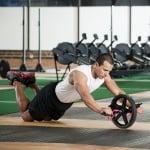 Колело за силова тренировка на корем