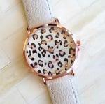 Дамски кожен часовник Leopard