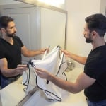 Престилка за бръснене и подстригване