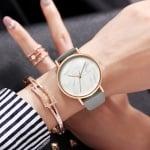 Луксозен дамски часовник  MARBLE