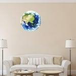 Фосфорисцентна планета Земя